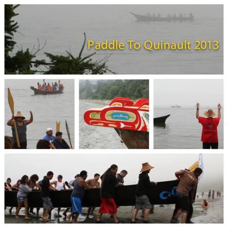 Canoe Journey 2013
