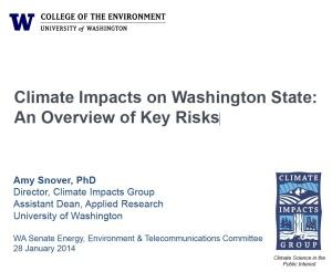 UW Climate Change Presentation
