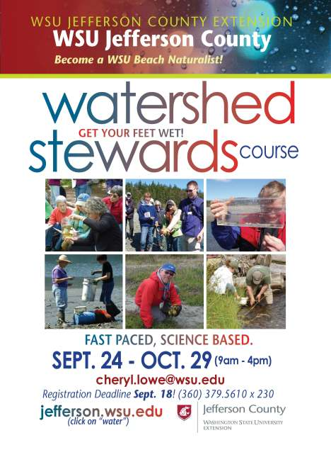 Watershed Stewards Training SEPT 2015