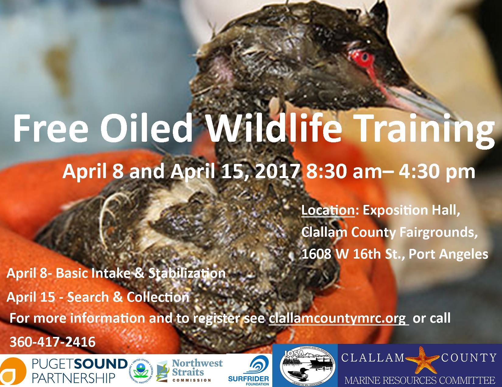 Oiled Wildlife Flyer 2017