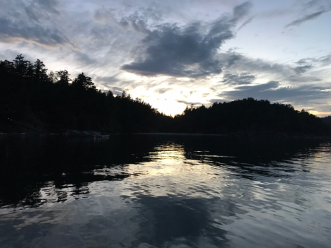 Bedwell Harbor Evening