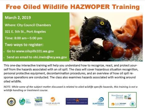 thumbnail_Oiled Wildlife HAZWOPER Training